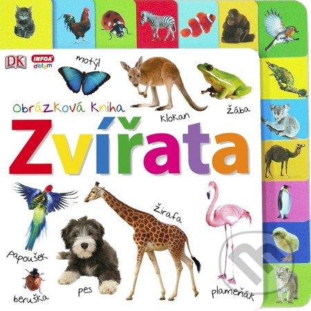 Obrázková kniha: Zvířata - INFOA