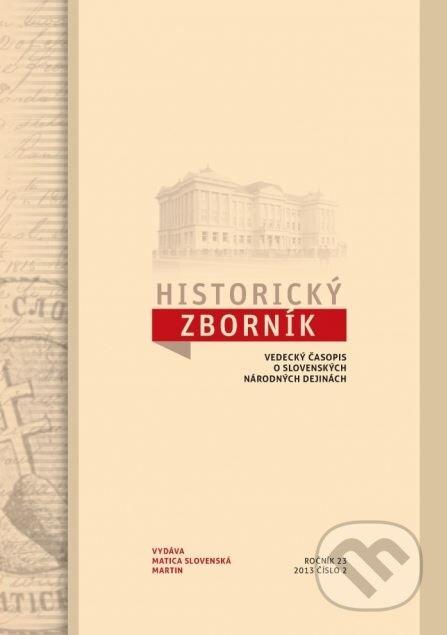 Venirsincontro.it Historický zborník 23/2013, číslo 2 Image