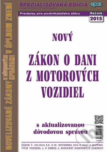 Fatimma.cz Nový zákon o dani z motorových vozidiel Image