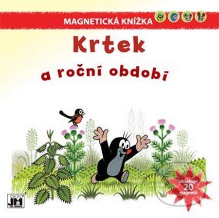 Fatimma.cz Krtek a roční období - Magnetická knížka Image