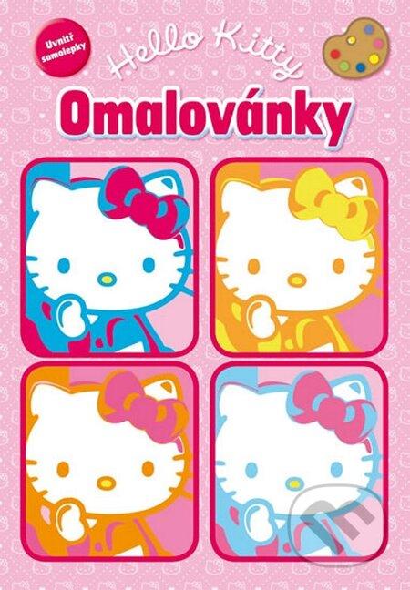 Fatimma.cz Hello Kitty: Omalovánky se samolepkami Image
