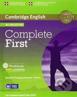Complete First - Workbook with Answers - Amanda Thomas, Barbara Thomas