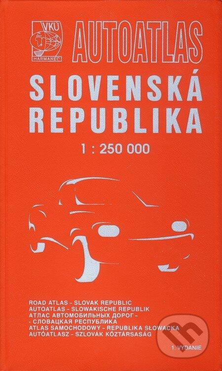 Interdrought2020.com Autoatlas Slovenská republika 1:250 000 v plastovej obálke Image