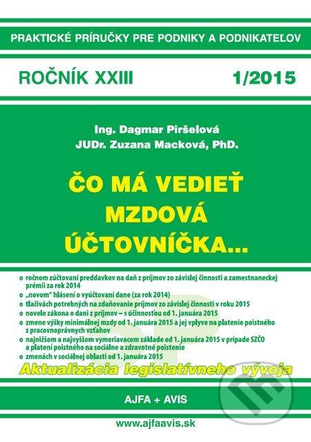 Interdrought2020.com Čo má vedieť mzdová účtovníčka... 1/2015 Image