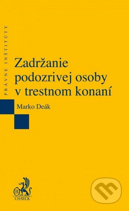 Peticenemocnicesusice.cz Zadržanie podozrivej osoby v trestnom konaní Image