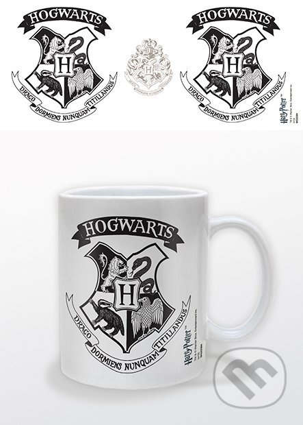 Harry Potter (Hogwarts Crest Black)    -
