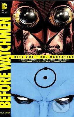 Before Watchmen: Nite Owl / Dr. Manhattan - Adam Hughes
