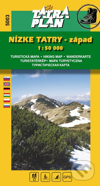 Excelsiorportofino.it Nízke Tatry - západ 1:50 000 Image
