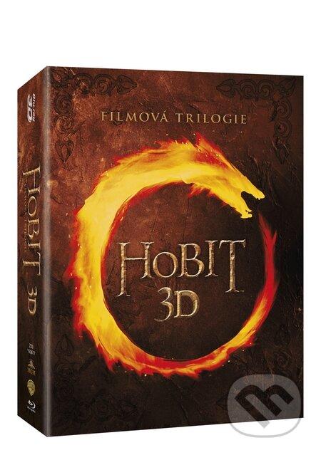 Hobit kolekce 1.- 3. 3D Blu-ray3D