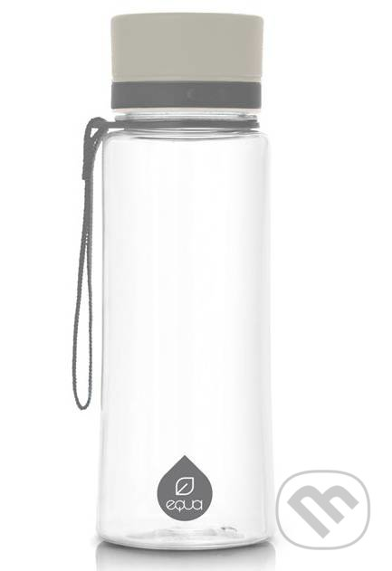 Kávy a čaje  Fľaša EQUA Plain Grey 600 ml (K3 plus)  5250c1e970f