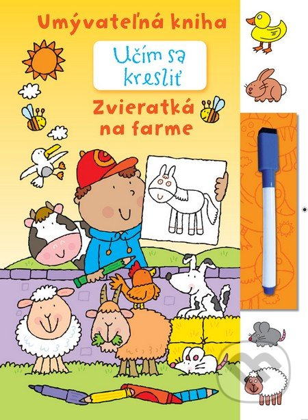 Učím sa kresliť - Zvieratká na farme - Svojtka&Co.