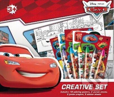 Auta - Kreativní set -