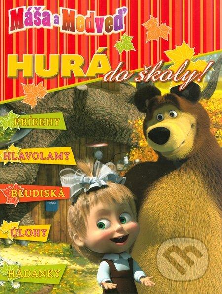 Interdrought2020.com Máša a medveď - Hurá do školy! Image