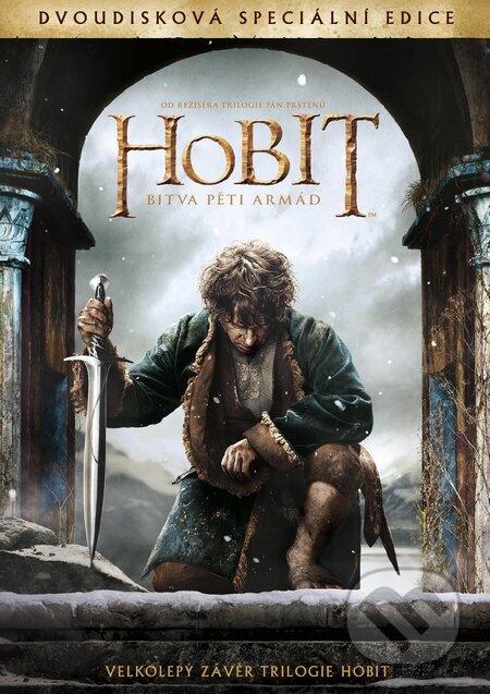 Hobit: Bitva pěti armád 2 DVD DVD