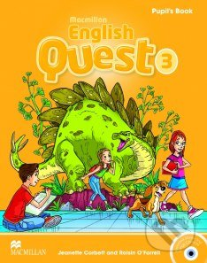 Macmillan English Quest 3 - Pupil's Book - Jeanette Corbett, Rosin O'Farrel