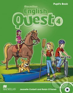 Macmillan English Quest 4 - Pupil's Book - Jeanette Corbett, Rosin O'Farrel