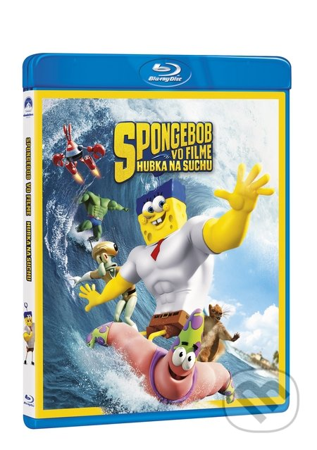 SpongeBob vo filme: Hubka na suchu Blu-ray