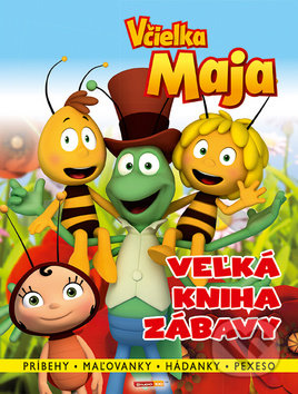 403fd3afb Kniha: Včielka Maja: Veľká kniha zábavy (Egmont SK) | Martinus