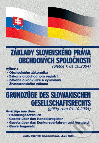 Interdrought2020.com Základy slovenského práva obchodných spoločností - Grundzüge des slowakischen Gesellschaftsrechts Image