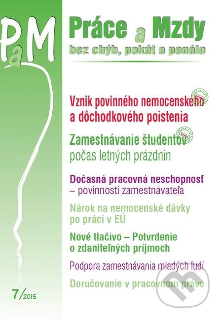 Fatimma.cz Práce a Mzdy 7/2015 Image