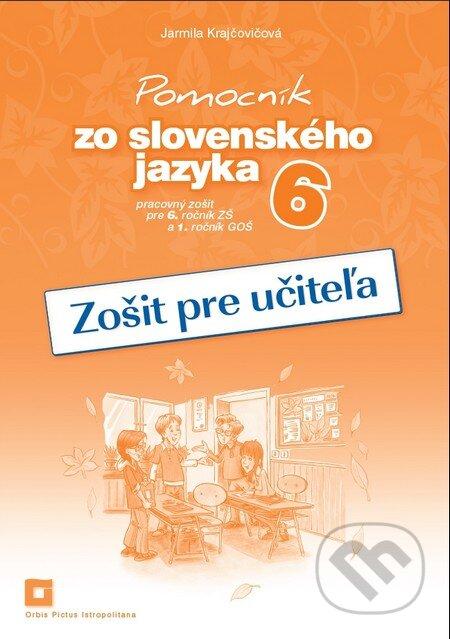 Fatimma.cz Pomocník zo slovenského jazyka 6 (zošit pre učiteľa) Image