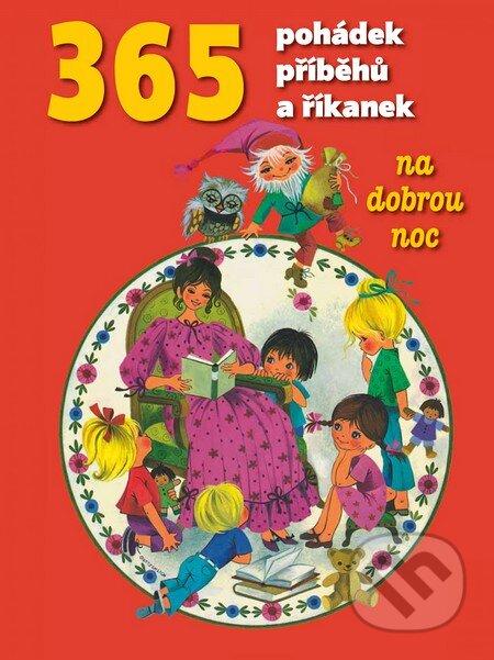 365 pohádek, příběhů a říkanek - Egmont ČR