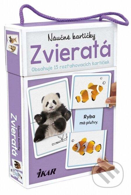 Náučné kartičky – Zvieratá - Kolektív autorov