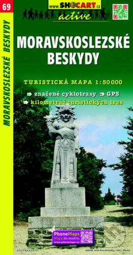 Venirsincontro.it Moravskoslezské Beskydy 1:50 000 Image