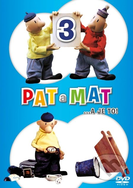 Pat a Mat 3 DVD