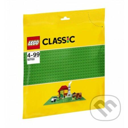 LEGO Classic - Zelená podložka na stavanie - LEGO