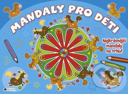 Interdrought2020.com Mandaly pro děti (modré) Image