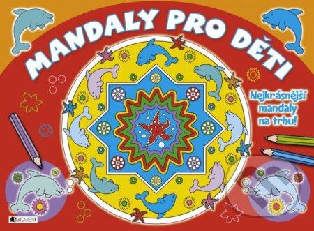 Interdrought2020.com Mandaly pro děti (červené) Image