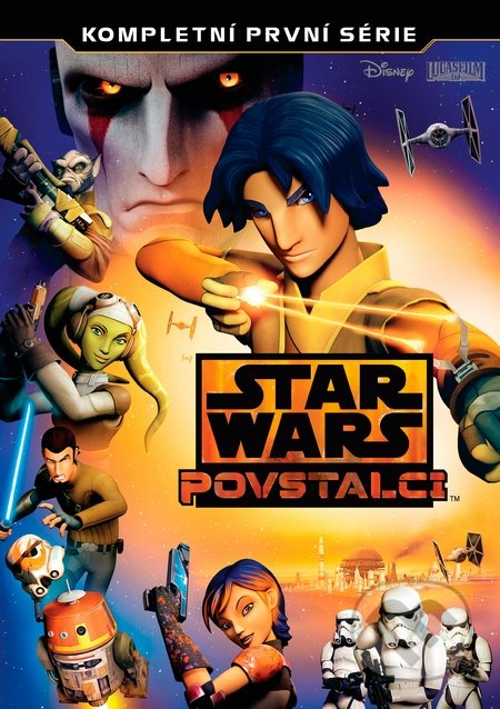 Star Wars: Povstalci 1. série - Steward Lee, David Filoni, Steven G.Lee, Justin Ridge