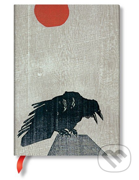 Paperblanks - Crow with Red Sun -
