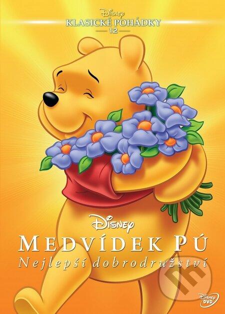 Medvídek Pú: Nejlepší dobrodružství DVD