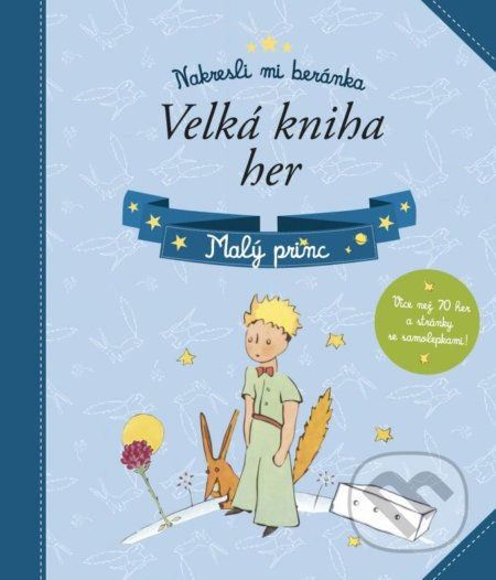 Fatimma.cz Malý princ: Velká kniha her Image