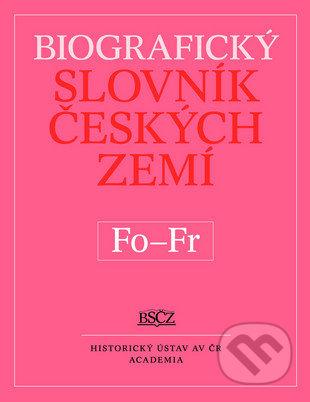 Fatimma.cz Biografický slovník českých zemí (Fo-Fr) Image