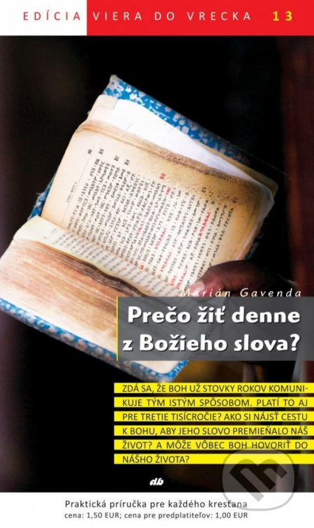 Peticenemocnicesusice.cz Prečo žiť denne z Božieho slova? Image