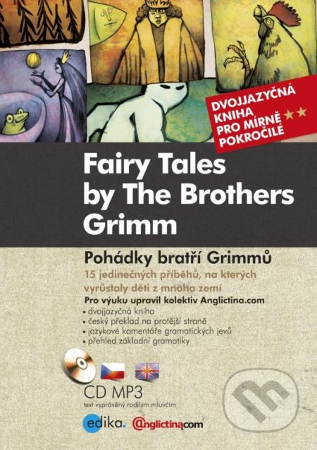 Poh�dky brat?� Grimm? - Fairy Tales by The Brothers Grimm - Anglictina