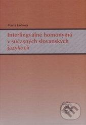 Fatimma.cz Interlingválne homonymá v súčasných slovanských jazykoch Image