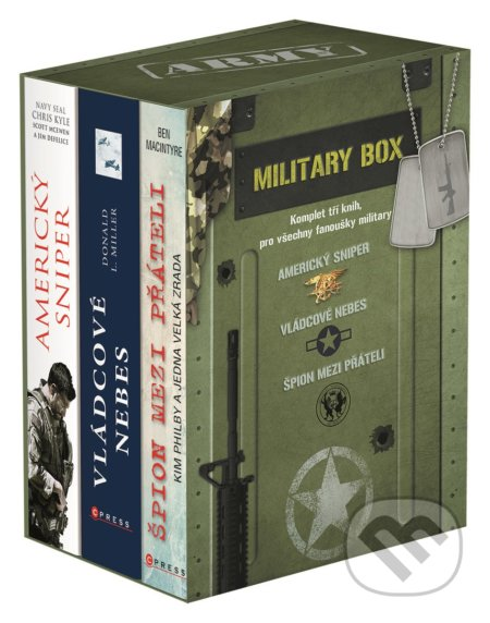 Military (BOX) - Chris Kyle, Scott McEwen, Jim DeFelice, Ben Macintyre, Donald L. Miller
