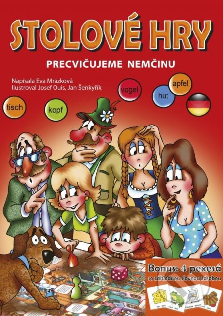 Stolové hry: Precvičujeme nemčinu - Eva Mrázková
