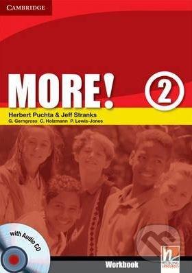 More! 2: Workbook + CD - Christian Holzmann, Peter Lewis-Jones, Herbert Puchta a kol.
