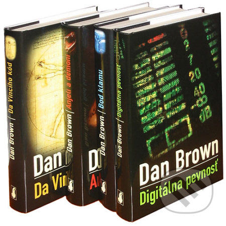 Newdawn.it Dan Brown - kolekcia 4 bestsellerov Image