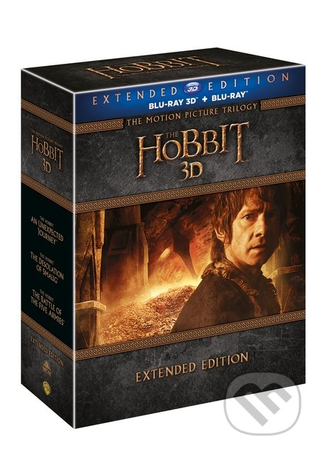 Hobit kolekce 1.-3. Prodloužené verze 3D Blu-ray3D