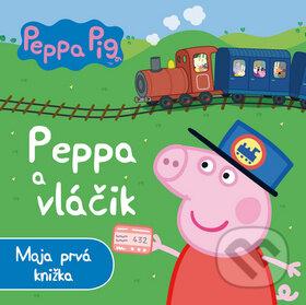 Kniha Peppa Pig Peppa A Vláčik Egmont Sk Martinus