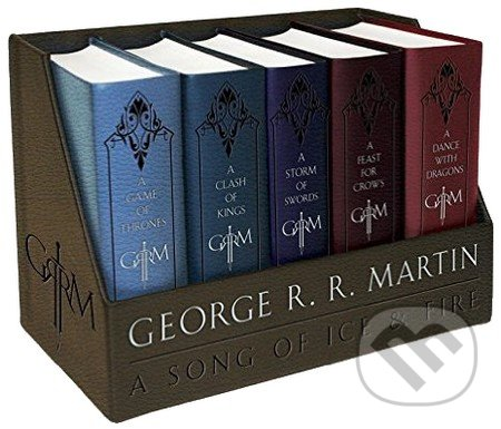 A Game of Thrones Leather-Cloth Boxed Set - George R.R. Martin