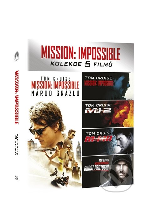 Mission: Impossible kolekce 1-5 Blu-ray