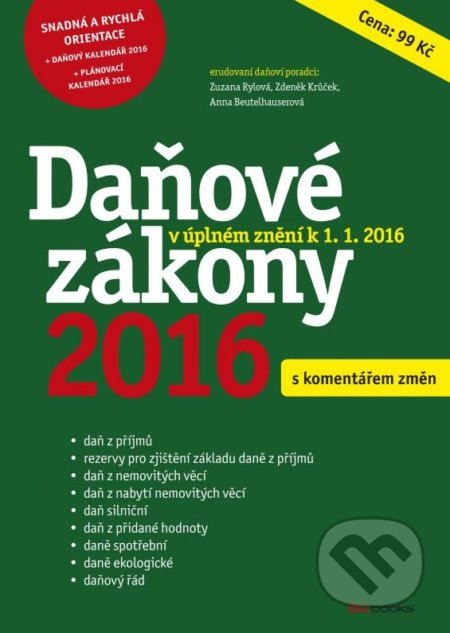 Fatimma.cz Daňové zákony 2016 Image