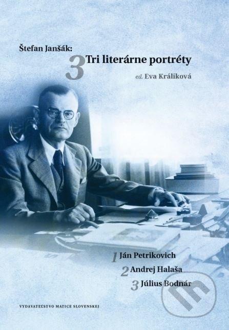 Fatimma.cz Štefan Janšák: Tri literárne portréty Image